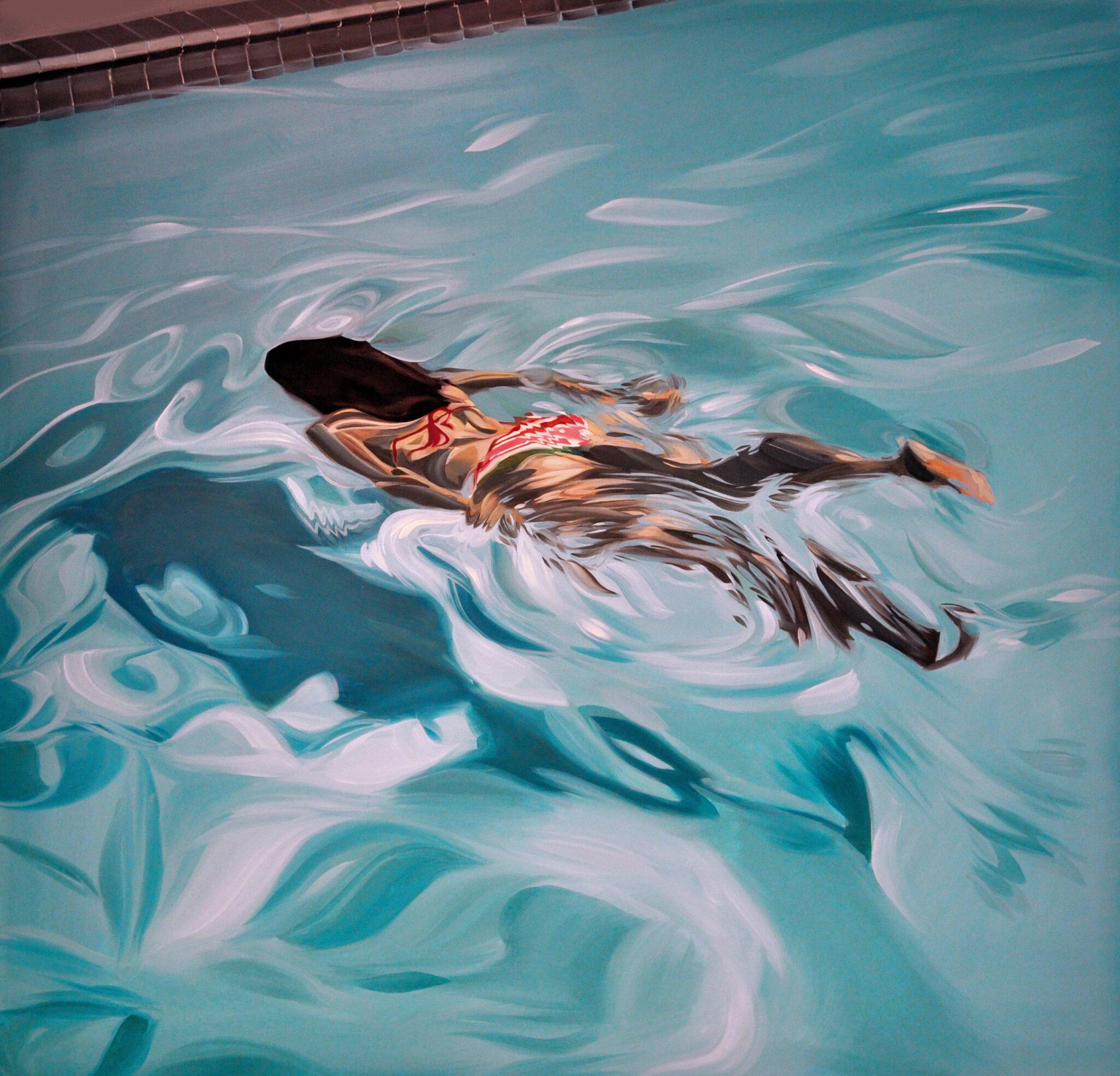 Swim Website For Artist Benjamin Anderson